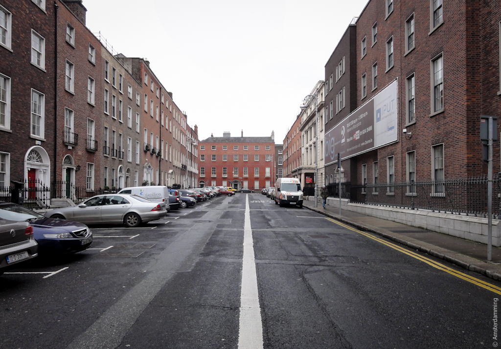Dublin, Typical Street in Residential Area