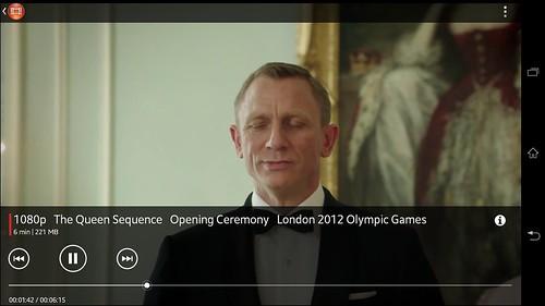 คลิปวิดีโอ 1080p เล่นบน Sony Xperia Z Ultra สบายๆ