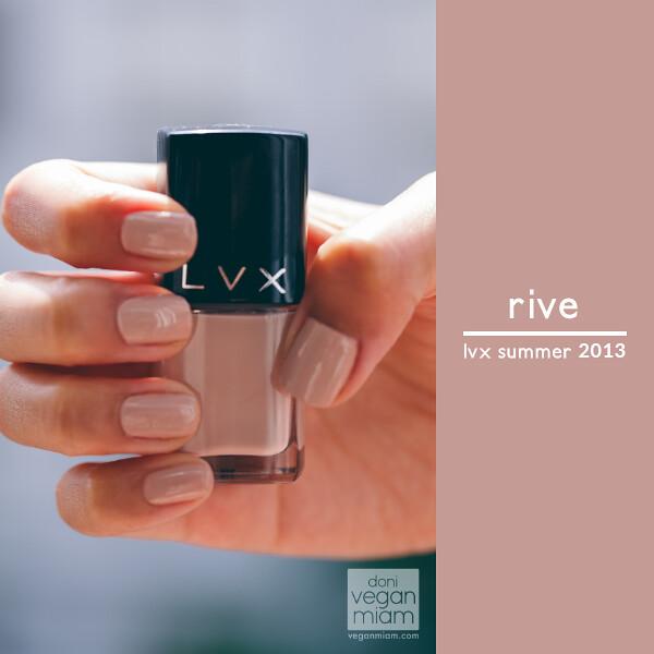LVX Summer 2013 Nail Lacquer (Vegan)