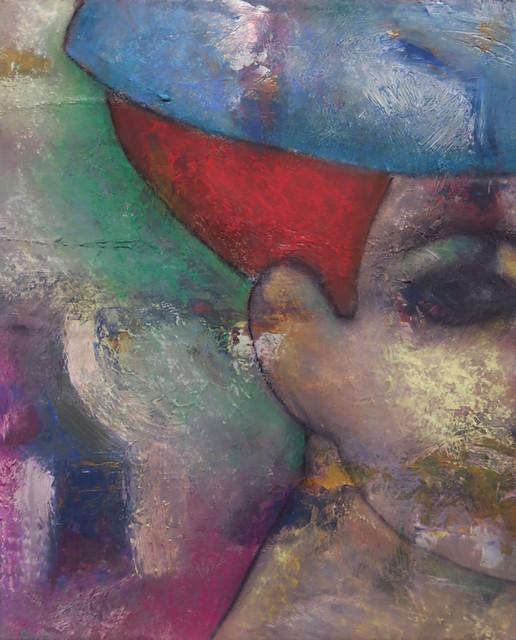 Homage to La femme au chapeau (Matisse)