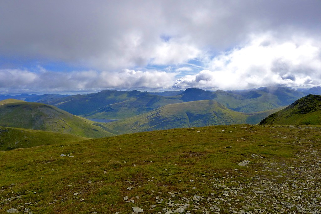 The Mamlorns from Beinn an Dothaidh