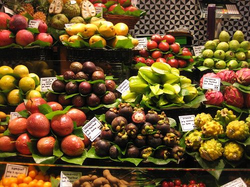 La Boqueria Market. From Foodie Finds: Exploring Barcelona, One Bite at a Time