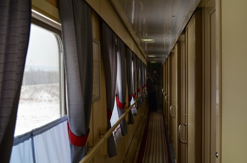 Vagón de segunda clase -Transiberiano