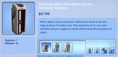 Tardisian All-in-One Bathroom by Corebital Designs