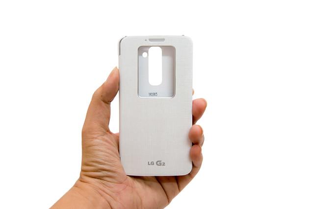 LG G2 國際版原廠 QuickWindow 皮套分享(台灣 LG 預購贈品)@3C 達人廖阿輝