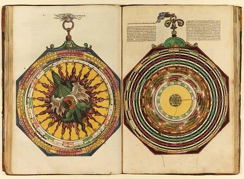 009-Astronomicum Caesareum-1540- Petrus Apianus -Staatsblibliothek Bamberg