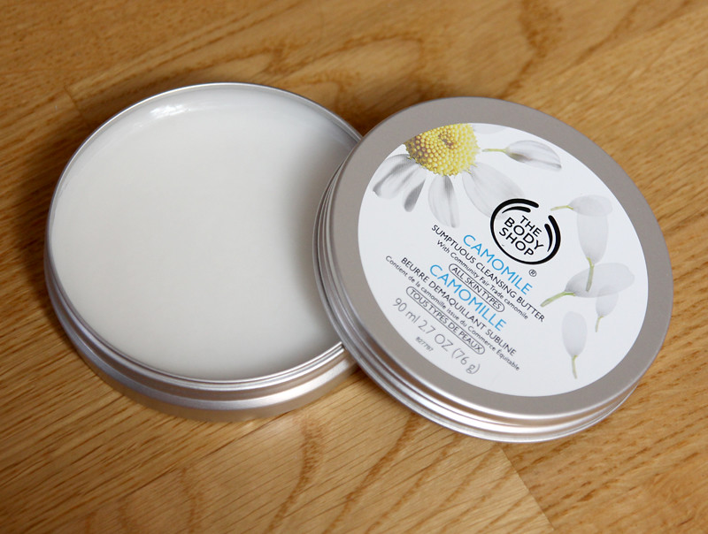 TBS Camomille sumptuous cleansing butter
