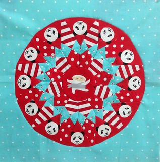 Pandas and the Lone Ninja Block Block 10""