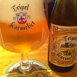 ベルギービール大好き!!トリプル・カルメリートKarmeliet Tripel @BASE CAMP 福岡 博多