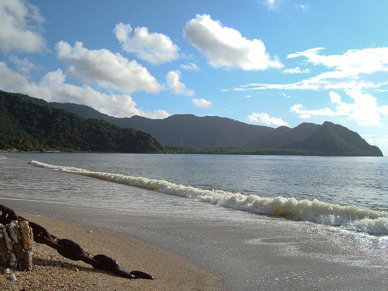 20. Playa Macuro, zona de Arribada de Colón en su tercer viaje. Autor, Luisovalles