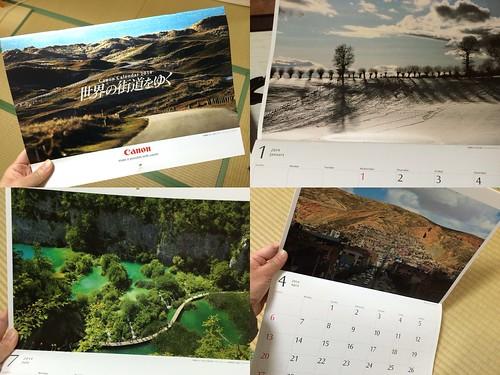 キヤノンカレンダー2014