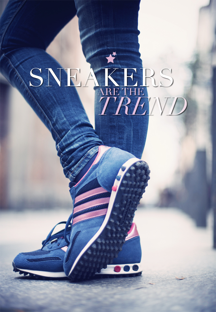 street style barbara crespo sneakers are the trend adidas fashion blogger outfit