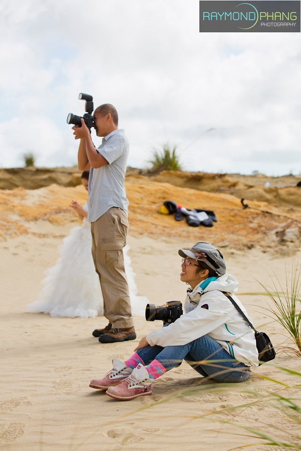 Conceptualised Pre-Wedding Behind the Scene in New Zealand - 10