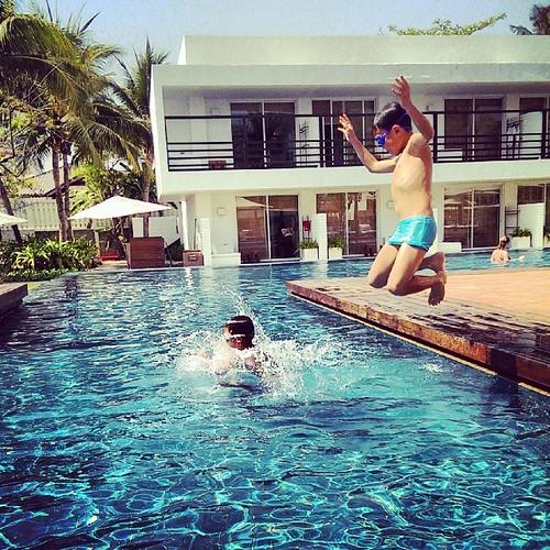 跳水也會上癮。