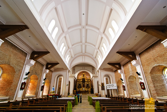 The Interiors of the Kalibo Cathedral