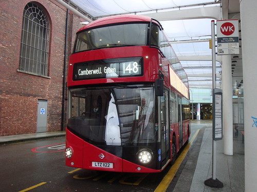 London United LT122 on Route 148, White City Bus Station