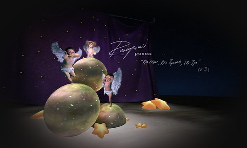 ROQUAI's little Cupids - No Hear No Speak No See
