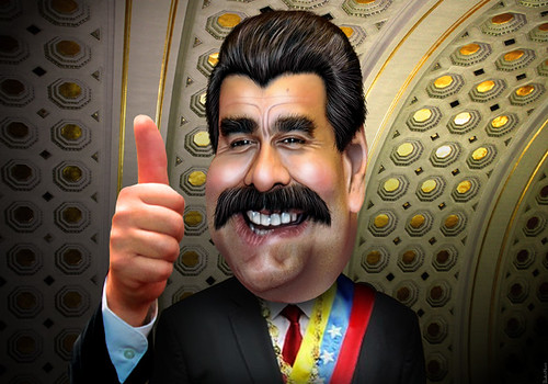 Nicolás Maduro - Caricature
