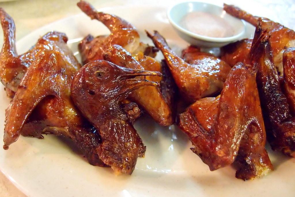 Tai Yuen Dai Pai Dong: Roasted Pigeons