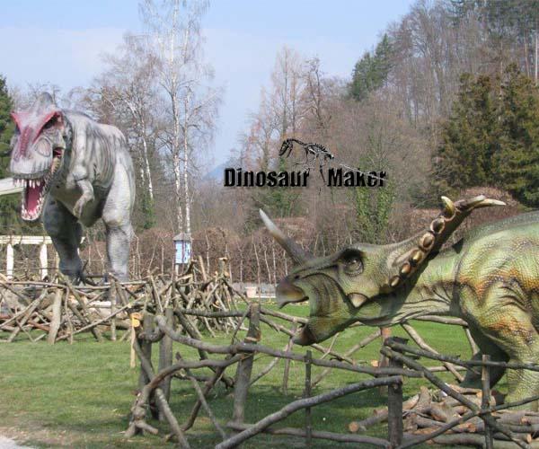 Dinosaur Exhibition in Slovenia