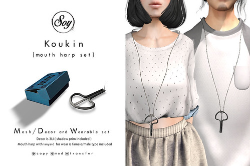 Soy. Koukin (mouth harp set) for forest spring by Soyoy.