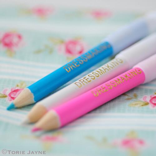 Dressmaking pencils