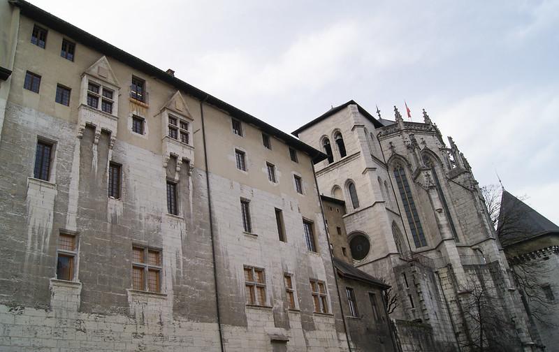 Le château des Ducs de Savoie et sa Sainte-Chapelle