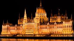 building, parliament, palace, landmark, night,