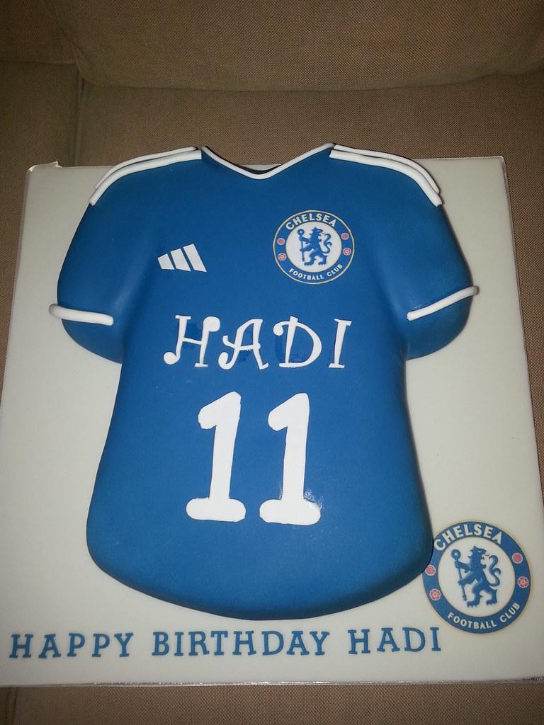 ecd09fc40 Chelsea Football Shirt Cake