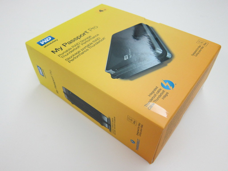 Western Digital My Passport Pro - Box