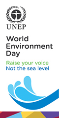 World Environment Day, 2014 - Raise your voice, not the sea level