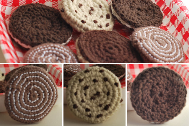 galletas ganchillo crochet amigurumi playfood