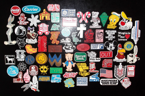 Old Vintage Batch O Magnets 1970's