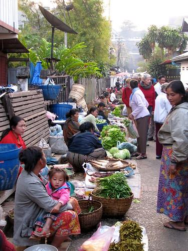 Mercado de Abastos de Luang Prabang