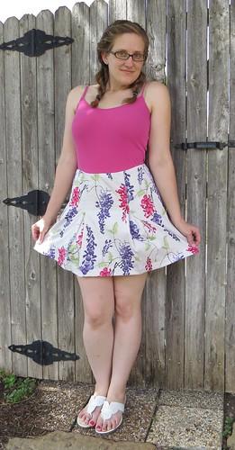 Larkspur Skirt - After