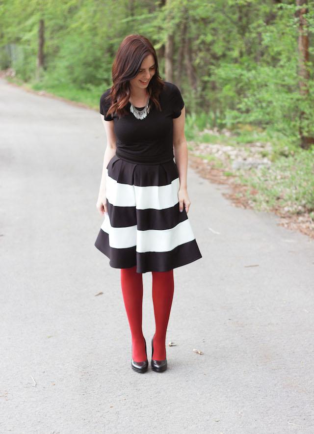 black&whiteskirt