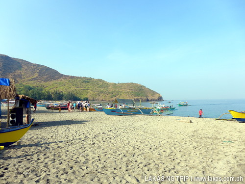 Beach at Brgy. Pundaquit