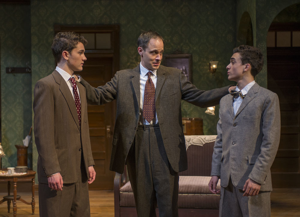 Alistair Sewell (Jay), Timothy Edward Kane (Eddie), and Sebastian W. Weigman (Arty)