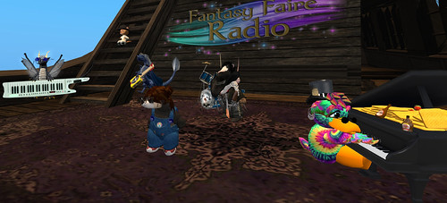 Tiny Band At Fantasy Faire