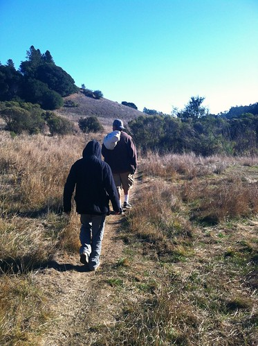 Grass Valley Trail in winter