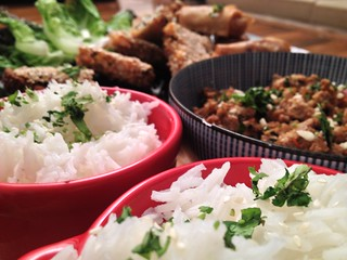 Spicy Thai Minced Pork : Thai Banquet