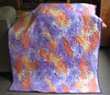 quilt back purple orange yellow