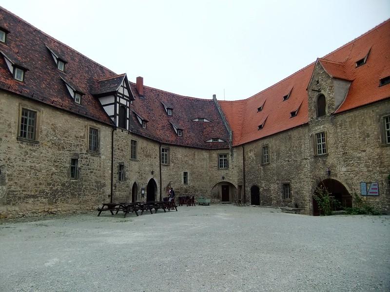 The Courtyard - Neuenburg Castle (Schloss Neuenburg) - Freyburg, Saxony-Anhalt, Germany