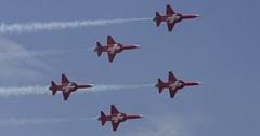 Švýcarské letectvo oslavilo 100 let od svého založení