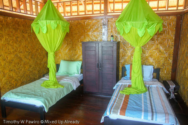 Indonesia - Sumba - Tarimbang - Peter's Magic Paradise - Twin bed room