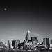 Moonrise over Charlotte... [Explored] by jason_frye