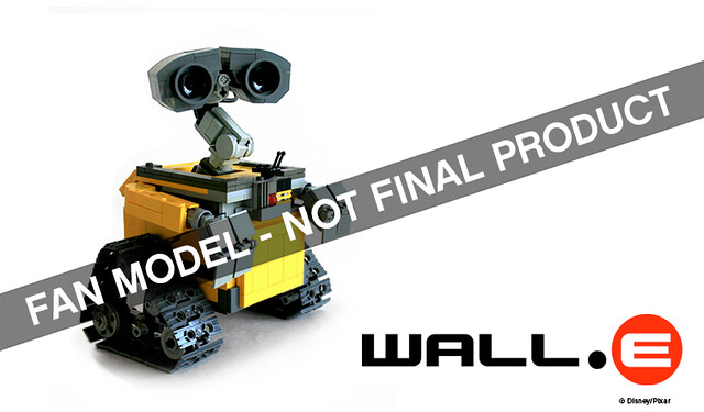 New LEGO Ideas Winner - Wall E