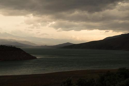 iran cloudy dam february barrage gilan manjil sefid 2015 roud