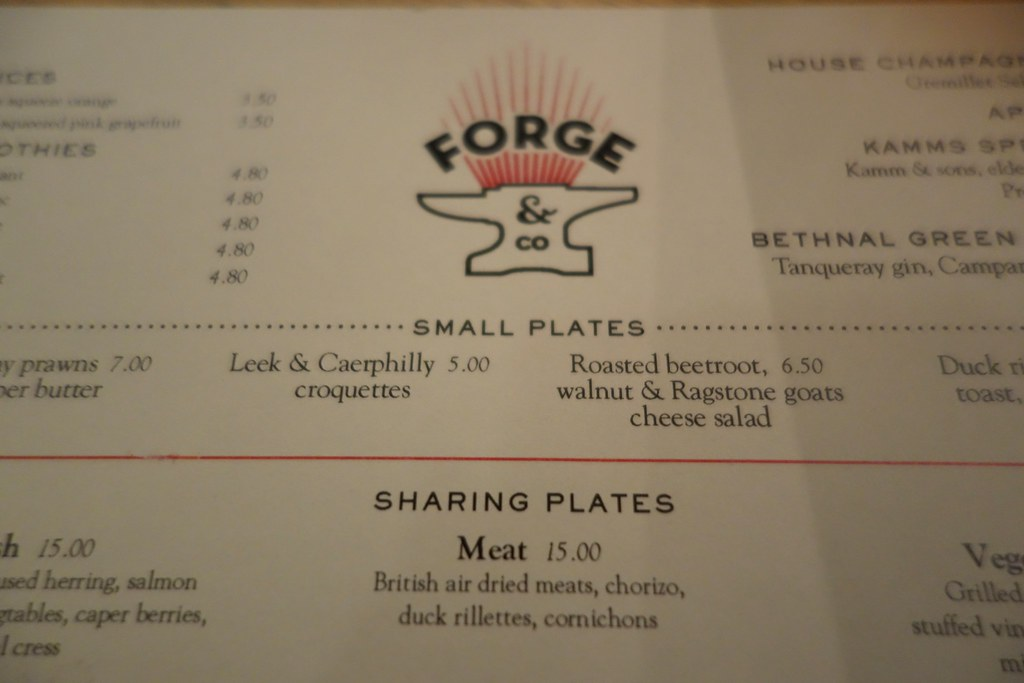 Forge & Co, Shoreditch