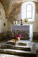 Simple stone altar